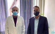 Ο Θανάσης Παπαθανάσης επισκέφθηκε το Κέντρο Υγείας Αγρινίου