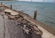 Η διάβρωση των ακτών στην Πάτρα και την Αχαΐα, καλά κρατεί!