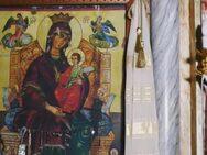 Συγκίνηση στο Αγρίνιο - Η φωτιά στην εκκλησία σταμάτησε μπροστά στην εικόνα της Παναγίας