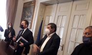 Πέτσας από Πάτρα: 'Κυβέρνηση, αυτοδιοίκηση και πολίτες δίνουμε μαζί την μάχη - Βγαίνουμε νικητές όταν βάζουμε όλοι πλάτη'
