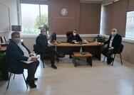 Συνάντηση του Δημάρχου Ναυπακτίας Β. Γκίζα με τον Περιφερειάρχη Ν. Φαρμάκη