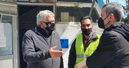 Θεσσαλονίκη: Εργαζόμενος στην καθαριότητα βρήκε τσάντα με 1.000 ευρώ