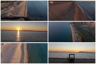 Η παραλία της Καλογριάς μας μαγεύει όλο το χρόνο (video)
