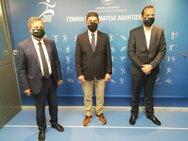 Συνάντηση του Περιφερειάρχη, Νεκτάριου Φαρμάκη με τον Υφυπουργό Αθλητισμού Λευτέρη Αυγενάκη