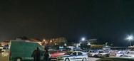 Πάτρα: Επίθεση στο πάρκινγκ της ΕΛ.ΑΣ στην οδό Αμερικής