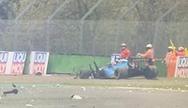 Formula 1: Τρομακτικό ατύχημα στο Grand Prix της Ίμολα (video)