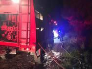 Πάτρα: Οι πυροσβέστες έσωσαν τον Ομπλό από τις φλόγες (φωτό)