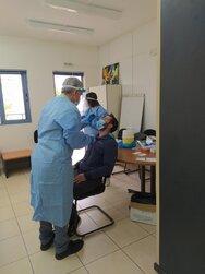 Rapid test σε εργαζόμενους των δομών του Κοινωνικού Οργανισμού του Δήμου Πατρέων