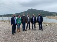 Επίσκεψη Περιφερειάρχη στο Δήμο Ερυμάνθου για την έναρξη της υδροδότησης των πρώτων Κοινοτήτων από το Φράγμα Πείρου - Παραπείρου