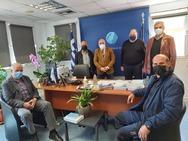 Αχαΐα: Συνάντηση Σακελλαρόπουλου με τους Προέδρους των Τοπικών Κοινοτήτων Πιτίτσας, Αργυρών και Σελλών