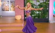 Ιωάννα Μαλέσκου - Μοίρασε 'εγκεφαλικά' με το χορό της κοιλιάς (video)