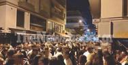 Βόλος: Κορωνοπάρτι με 150 άτομα σε πεζόδρομο