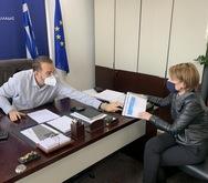 Αλεξοπούλου - Φαρμάκης: Στόχος η καταπολέμηση της ανεργίας στην Αχαΐα