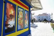 Πάτρα: Το κόμικς 'Ο Κρυμμένος Θησαυρός των Eντόμων' στο καρναβαλικό περίπτερο στην πλατεία Τριων Συμμάχων