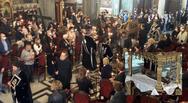 Ζάκυνθος: Σε κατανυκτική ατμόσφαιρα τελέστηκε στην Ι.Μ. Αγίου Διονυσίου η Ακολουθία του Επιταφίου Θρήνου (video)