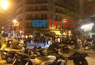 Θεσσαλονίκη: Εικόνες συνωστισμού στο κέντρο της πόλης