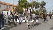 Οι καβαλάρηδες του Αϊ-Γιώργη στην Κόρινθο (pics+video)