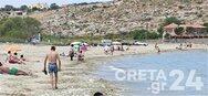 Κρήτη: «Βούλιαξαν» οι παραλίες στο Ηράκλειο
