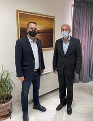 Δυτική Ελλάδα: Συνάντηση Θανάση Παπαθανάση με το Δήμαρχο Θέρμου