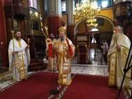 Σε αναστάσιμο κλίμα η εορτή του Αγίου Γεωργίου από την Ιερά Μητρόπολη Πατρών