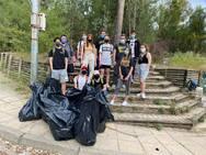 Πάτρα - Οι νέοι καθάρισαν το Δασύλλιο
