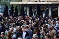 Βρυξέλλες: Ολονύχτια πάρτι στις πλατείες με το άνοιγμα της εστίασης