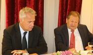Αχαΐα: Βορίδης και Καλογερόπουλος συζήτησαν για θέματα της Αιγιάλειας