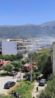 Πάτρα: Συναγερμός στην πυροσβεστική για μεγάλη φωτιά σε διαμέρισμα στου Ταραμπούρα (φωτο)