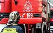 Πάτρα: Ξέσπασε φωτιά σε σπίτι στα Ζαρουχλέικα - Η αστυνομία έκλεισε το δρόμο προληπτικά