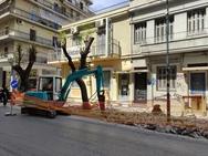 Πάτρα: Ξεκίνησε το έργο ολοκληρωμένης παρέμβασης στην Κωνσταντινουπόλεως (φωτο)