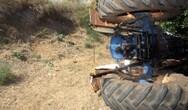 Αχαΐα: Ανατροπή τρακτέρ στο Μαζαράκι με τραυματισμό