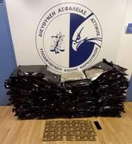Λιμάνι Πάτρας: Έφερε πάνω από 50 κιλά χασίς - Συνελήφθη ένας 55χρονος άντρας (φωτο)