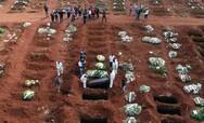 Βραζιλία: Πάνω από 460.000 θάνατοι λόγω κορωνοϊού