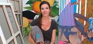 Στέλλα Καπεζάνου: 'Ζωγραφίζω όσο θυμάμαι τον εαυτό μου' (video)