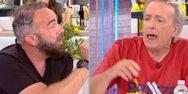 Ανδρέας Μικρούτσικος και Γρηγόρης Γκουντάρας σε απίστευτο καβγά στο 'Ευτυχείτε' (video)