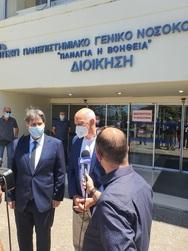 Πάτρα: Επίσκεψη Γεωργίου Παπανδρέου στα 2 μεγάλα νοσοκομεία, το Πανεπιστήμιο και τον ΣΥ.ΔΙ.Σ.Α (φωτο)
