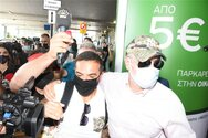 Survivor - Τριαντάφυλλος: «Χαμός» στο αεροδρόμιο για την επιστροφή του (pics+video)