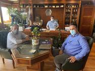 Συνάντηση ΕΑΥΑ με τον Αρχηγό της Ελληνικής Αστυνομίας Αντιστράτηγο Καραμαλάκη Μιχαήλ