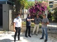 Πάτρα: Ο Δήμαρχος επισκέφθηκε το εργοτάξιο ανακατασκευής της οδού Ευρυβιάδου