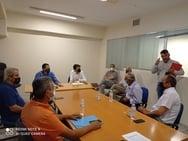 Συνάντηση του Αντιπεριφερειάρχη Αγροτικής Ανάπτυξης, Θ. Βασιλόπουλου με Αντιδημάρχους των Καλαβρύτων
