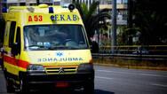 Δυτική Ελλάδα: Τροχαίο με τραυματία στο χείμαρρο Παναγίτσα
