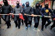 Πορεία αντιεξουσιαστών στο κέντρο της Πάτρας