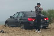Οδηγός έκανε τη γκάφα της χρονιάς στην παραλία (video)