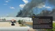 Ασπρόπυργος: Φωτιά σε βυτιοφόρο με προπάνιο - Εκκενώνεται η περιοχή Νεόκτιστα
