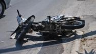 Πάτρα: Τροχαίο με τραυματία - Φορτηγό συγκρούστηκε με μηχανάκι