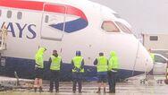 Βρετανία: «Κατέρρευσε» το μπροστινό μέρος αεροπλάνου της British Airways σε διάδρομο του Heathrow