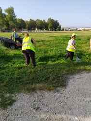 Πάτρα: Καθαρισμός και κοπή χόρτων σε διάφορα σημεία της πόλης (φωτο)