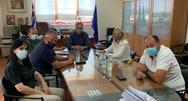 Συνάντηση Δημάρχου Ερυμάνθου με την Περιφερειακή Συντονίστρια Πολιτικής Προστασίας Δυτικής Ελλάδας
