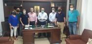 Η περιφερειακή ομάδα Δυτική Ελλάδα-Δικαίωμα στην Πρόοδο επισκέφτηκε τον εμπορικό σύλλογο της Πάτρας