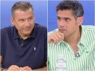 Γιώργος Λιάγκας και Δημήτρης Ουγγαρέζος σε άβολο διάλογο (video)